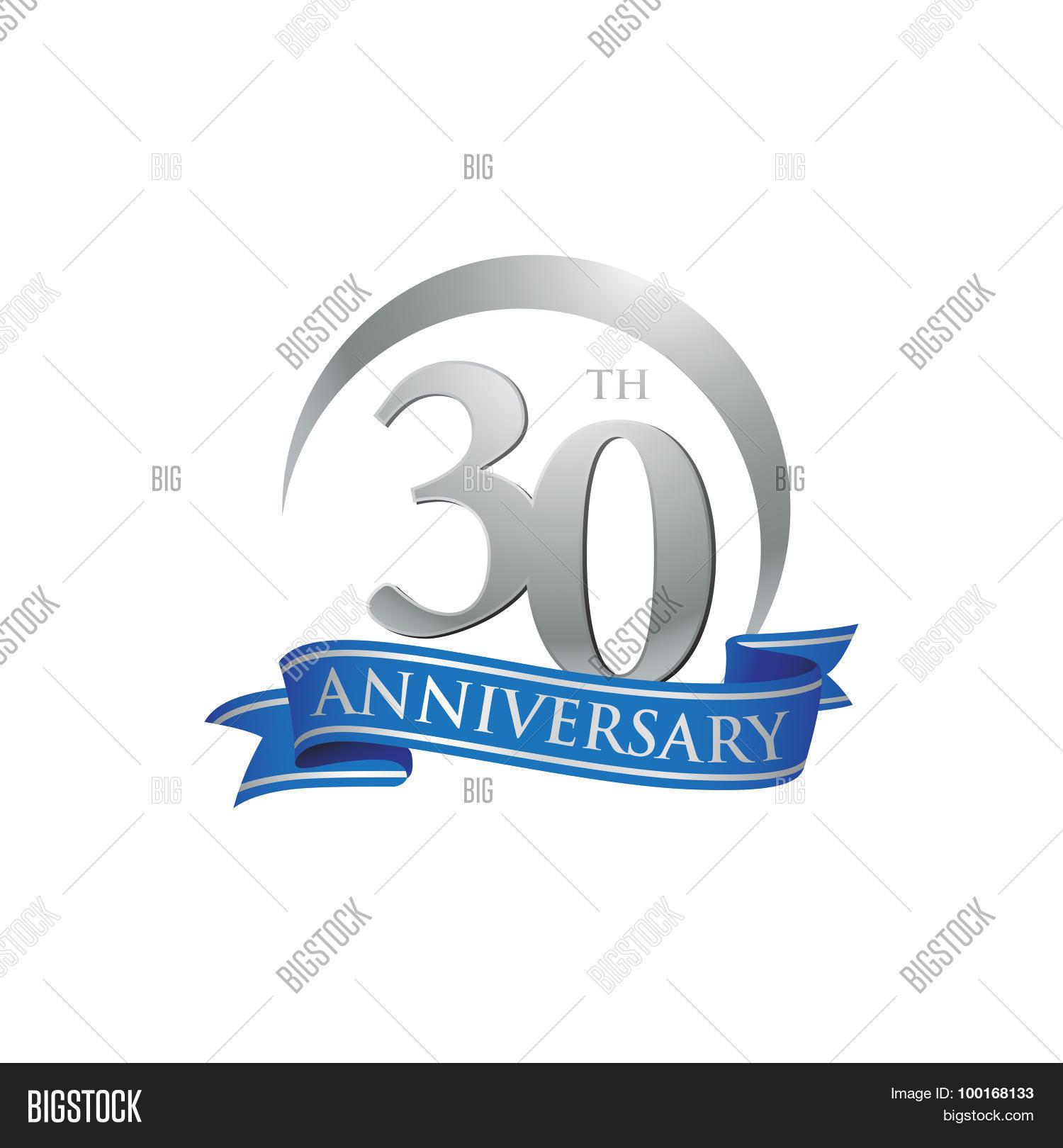 30th Anniversary Ring Vector Photo Free Trial Bigstock