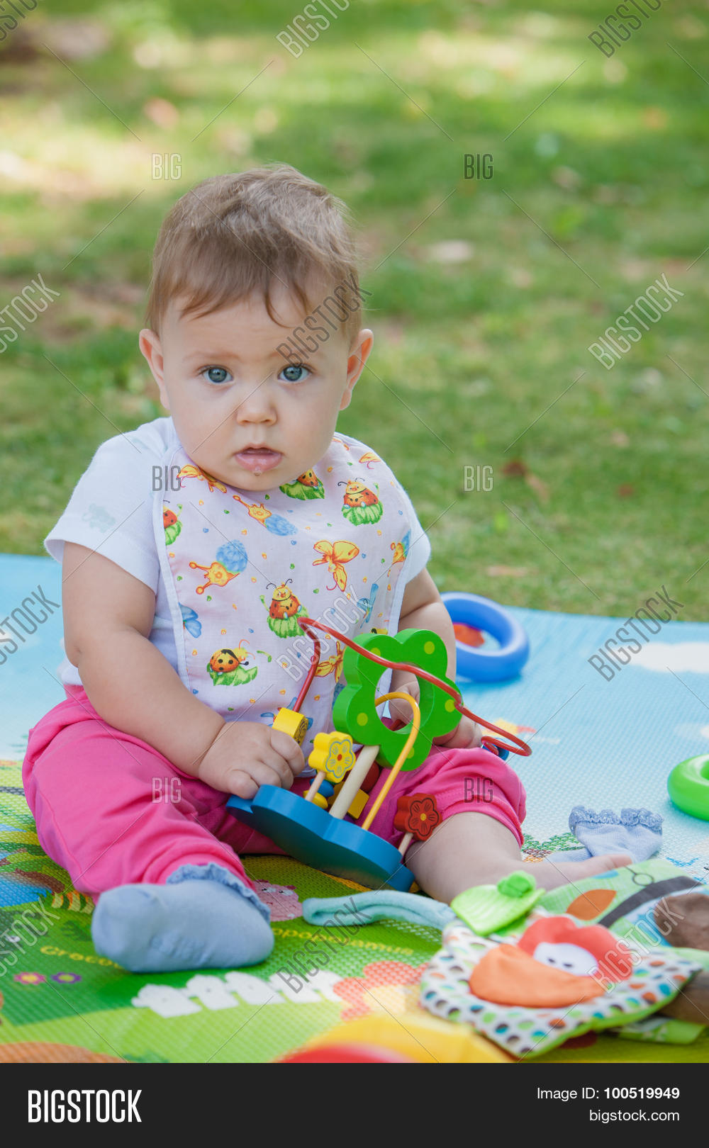 Baby Less Than Year Image Photo Free Trial Bigstock