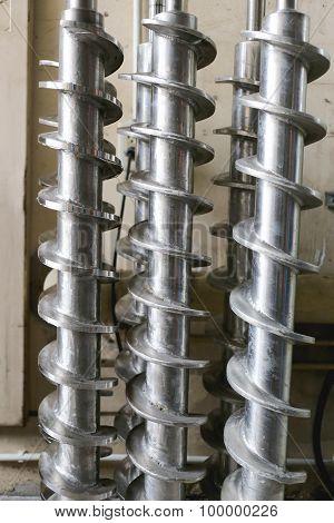 Large Steel Screws.