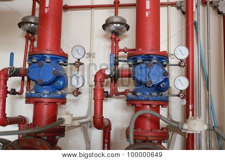 Water Pipe System.