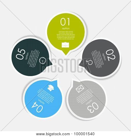 Infographic Templates for Business Vector Illustration