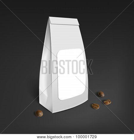 Mockup Blank Foil Coffee