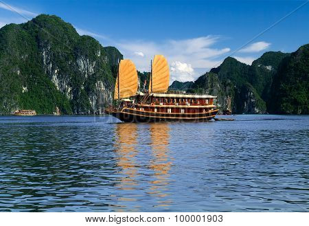 Vietnam Sailboat