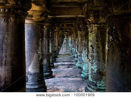 Cambodia Columns