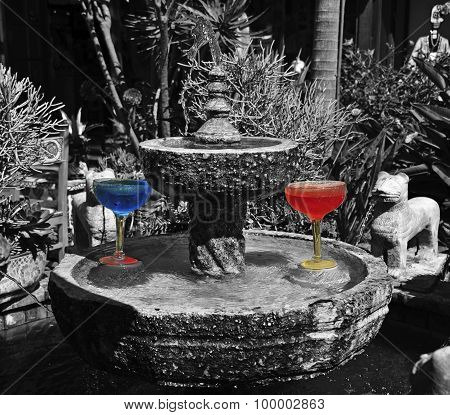 cocktail fountain