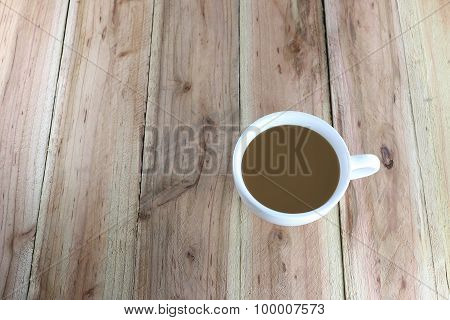 White Coffee Cup.