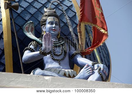Statue Of Blessing Shiva