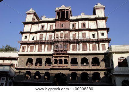 Facade Of Holkar Rajawada