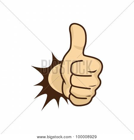 Thumbs Up Hand