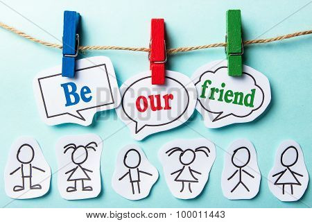 Be Our Friend
