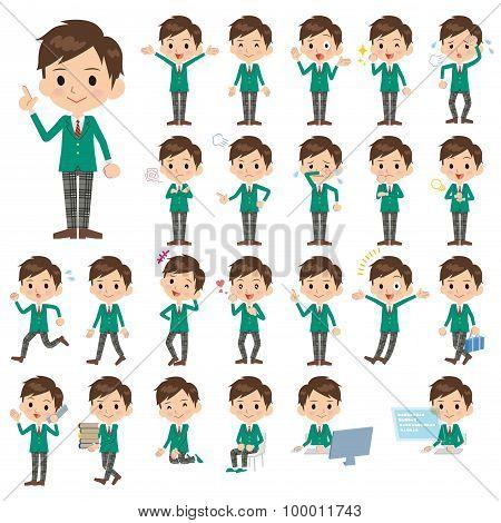 Schoolboy Green Blazer