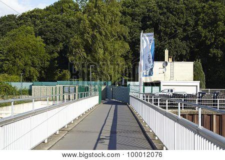 Hattingen (germany) - Dam Wall Of The Reservoir Kemnade