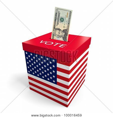 Corruption and big money lobbying in American election politics