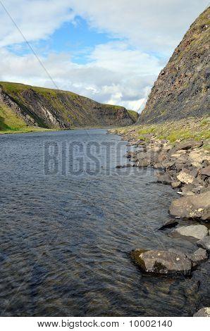 The River Among Hills
