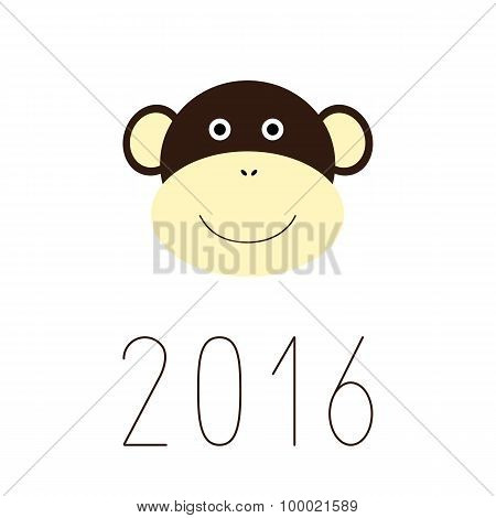 2016 Numbers And Monkey