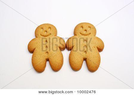 Two Gingerbread Cookies