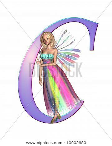 Fairy Alphabet - letter C