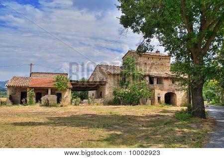 Farmhouse. Assisi. Umbria.