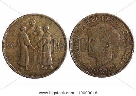 Romania Coin
