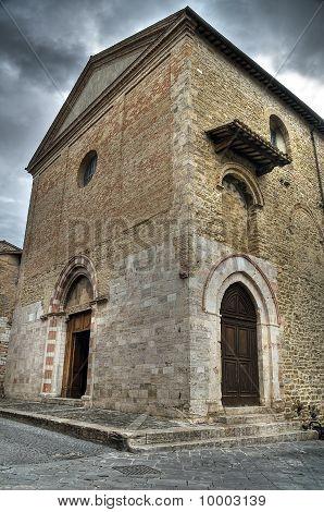 St. Michele Arcangelo Church. Bevagna. Umbria.