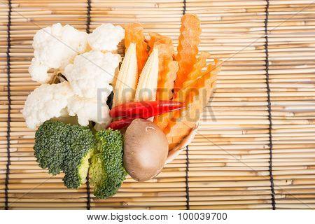 Vegetables Full The Basket