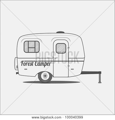 Caravan - mobile House for Camping