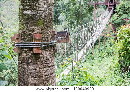 Steel Wire Lock.