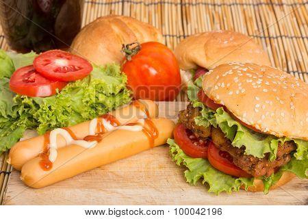 Classic Big Hamburger