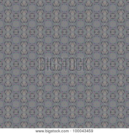 Seamless pattern silver gray