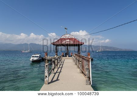 Gili Air jetty