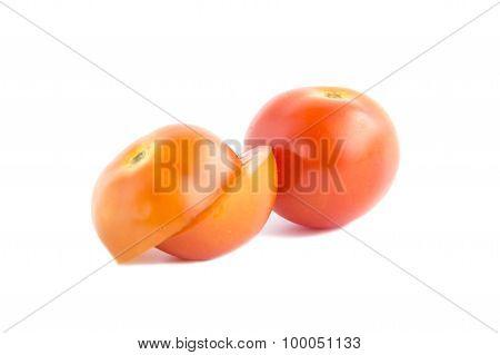 Fresh Red Tomatoes Sliced Ingredient