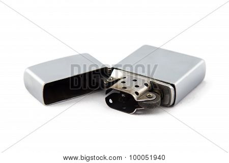 Photo used open gas lighter