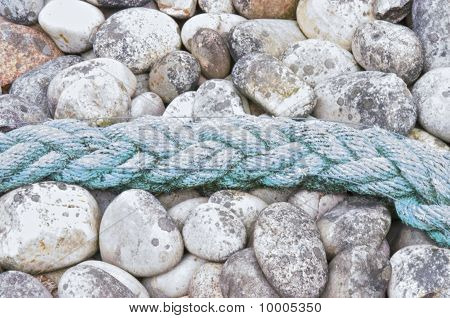 Rope and stones