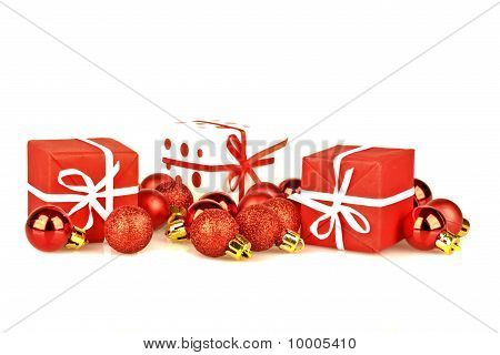 Christmas presents and decoration