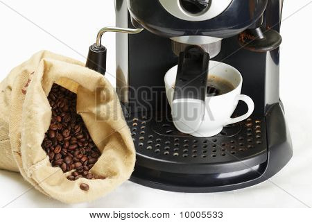 Coffee-machine And Crop