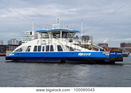 Dutch passenger ferry -  Amsterdam