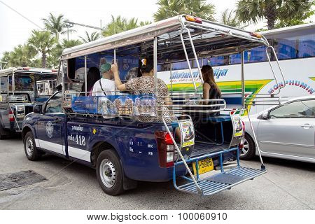 Asian taxis are called tuk-tuks