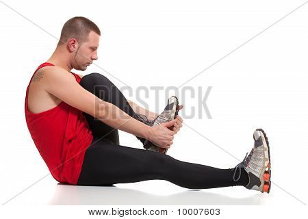 Runner Stretching