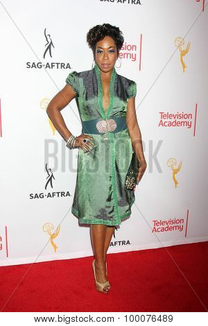 LOS ANGELES - AUG 27:  Tichina Arnold at the Dynamic & Diverse Emmy Celebration at the Montage Hotel on August 27, 2015 in Beverly Hills, CA