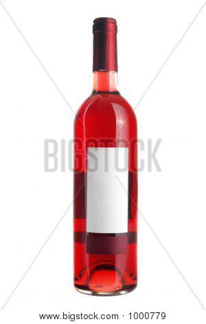 Flasche Rose Wein