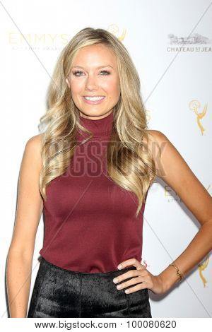 LOS ANGELES - AUG 26:  Melissa Ordway at the Television Academy's Daytime Programming Peer Group Reception at the Montage Hotel on August 26, 2015 in Beverly Hills, CA