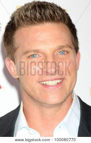 LOS ANGELES - AUG 26:  Steve Burton at the Television Academy's Daytime Programming Peer Group Reception at the Montage Hotel on August 26, 2015 in Beverly Hills, CA
