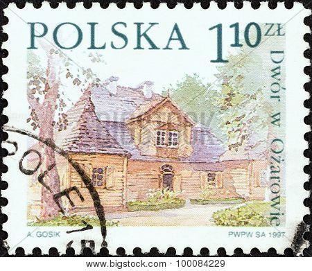 POLAND - CIRCA 1997: A stamp printed in Poland shows Ozarowie