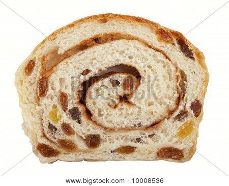 Rolled Cinamon Raisin Bread