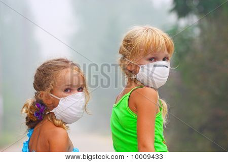 Two Girls In The Masks