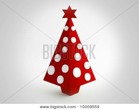 Christmas Red Tree