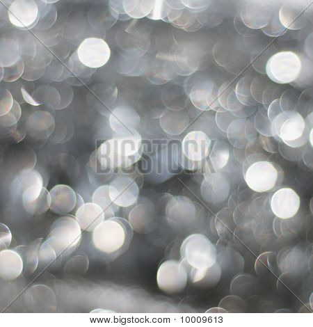 Silver Snow Background