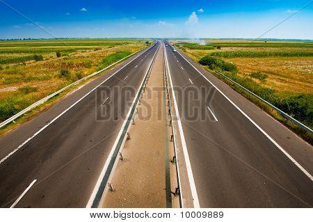 route in sky