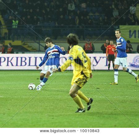 Sampdoria Genoa Mf Daniele Dessena