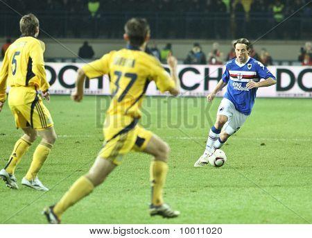 Sampdoria Genoa Df Reto Ziegler
